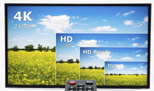 4k tv quality
