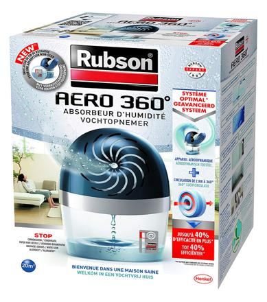 absorbeur d humidité rubson aero 360