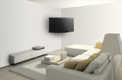 accroche tele au mur