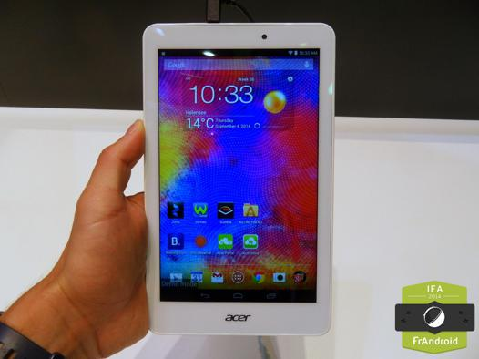acer iconia 8 pouces
