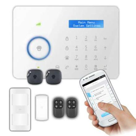 alarme maison smartphone