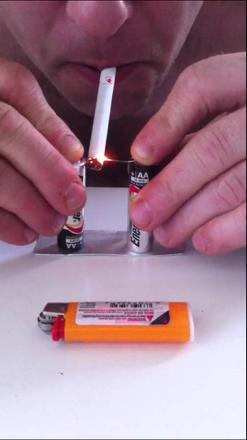 allumer cigarette sans briquet