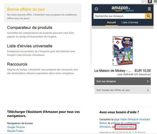 amazon aide en ligne