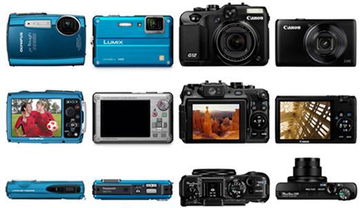 appareil photo numérique compact comparatif