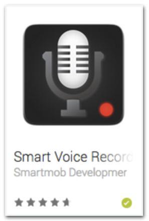 application enregistreur vocal