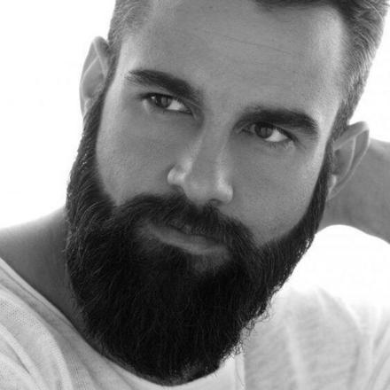 barbe homme tendance