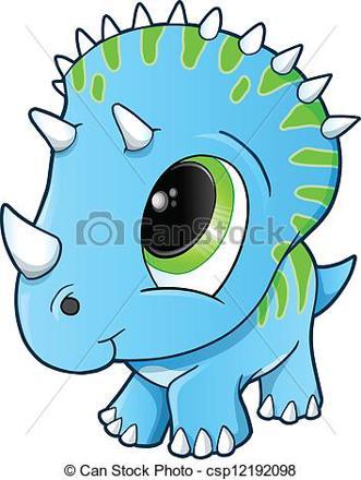 bébé dinosaure mignon