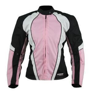 blouson moto femme rose