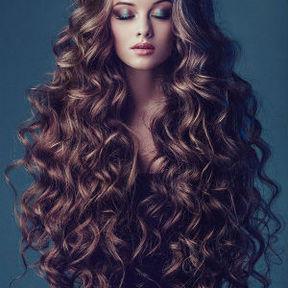 boucle sur cheveux long