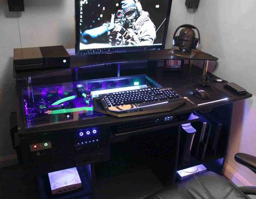 bureau pc gamer