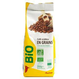 café bio en grains