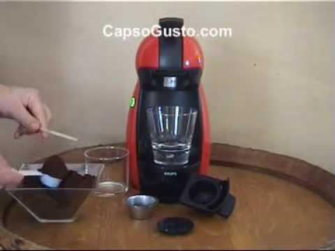 capsule rechargeable dolce gusto