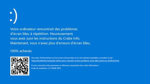 code d erreur windows