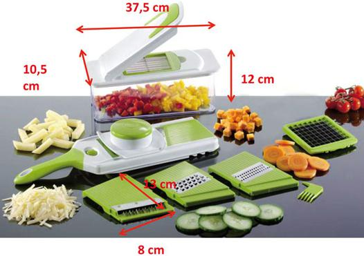 coupe legume multifonction