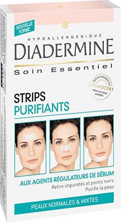 diadermine strips purifiants