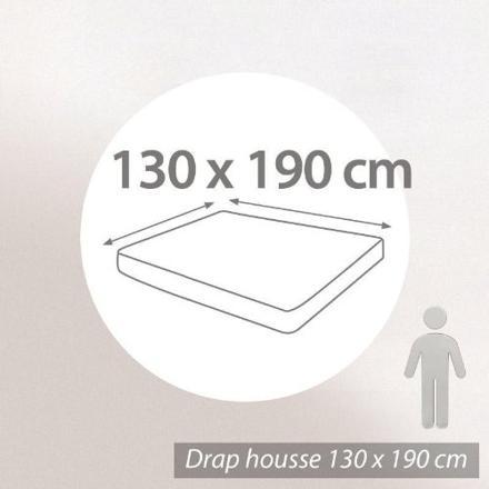 drap housse 130 x 190