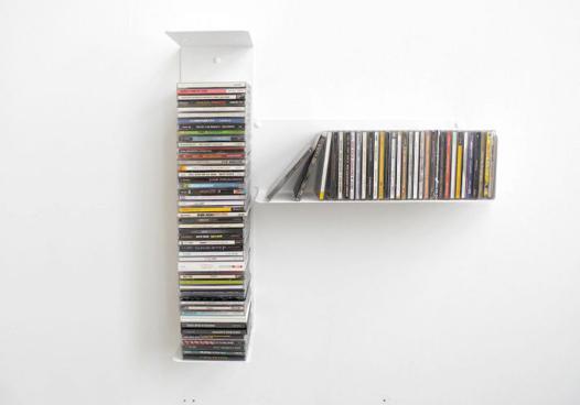 étagère à cd