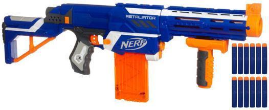 fusil nerf bleu