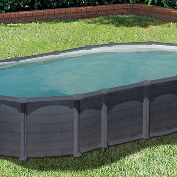 grande piscine hors sol rectangulaire