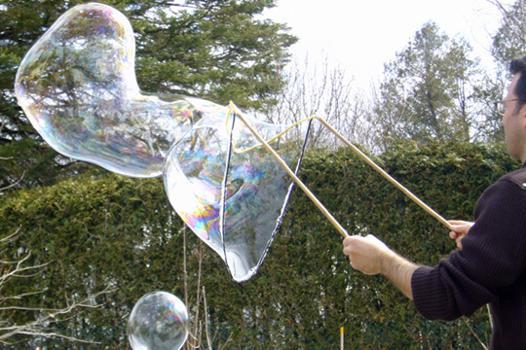 grosse bulle de savon