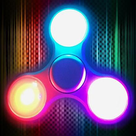 hand spinner avec led