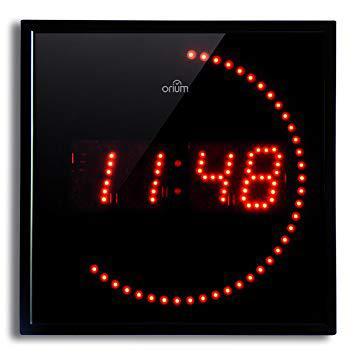 horloge orium led