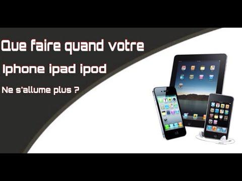 iphone ne s allume plus