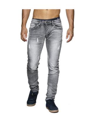 jean gris homme pas cher