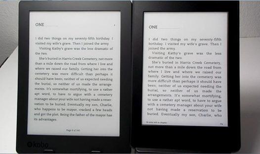 kindle kobo