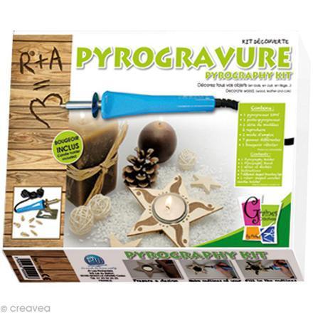 kit pyrograveur
