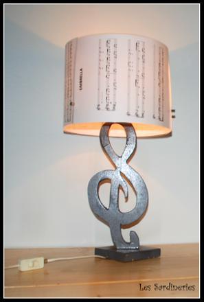 lampe musique