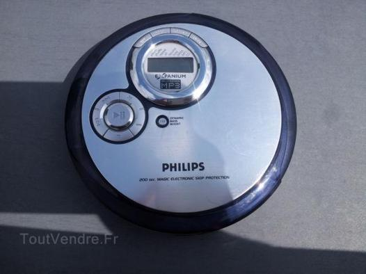 lecteur cd portable philips