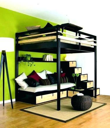 lit 2 places en mezzanine
