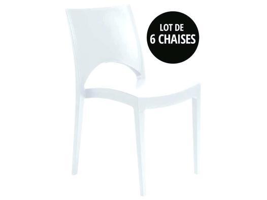 lot chaise de jardin