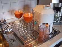 machine jus de carotte