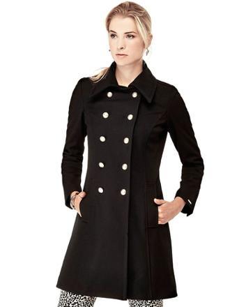 manteau femme guess