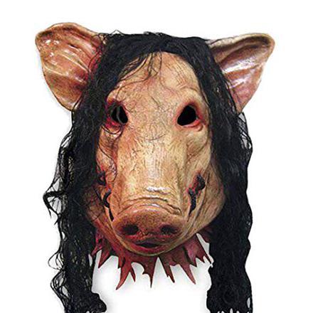 masque cochon horreur