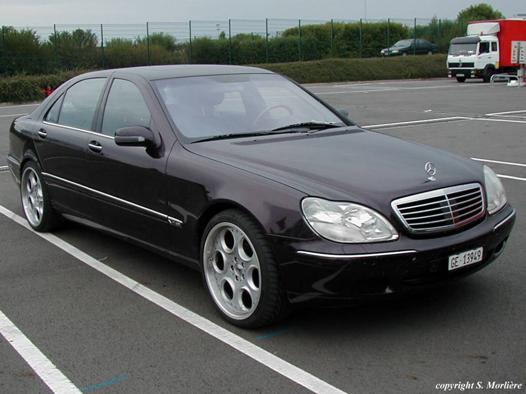 mercedes classe s 2001