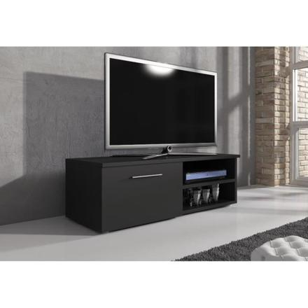 meuble tv 120 cm noir