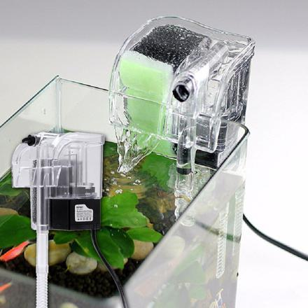 mini filtre aquarium