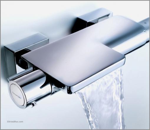 mitigeur thermostatique baignoire cascade