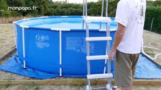 montage piscine tubulaire