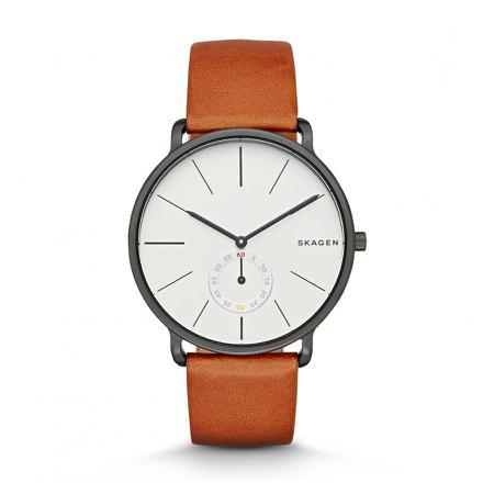 montre bracelet marron homme