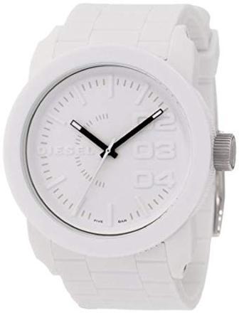 montre diesel blanc