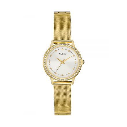 montre guess dorée pour femme