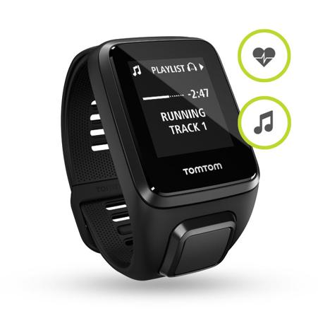 montre tomtom spark music