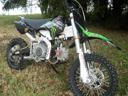 moto cross 125 adulte