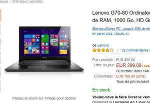 ordinateur portable 300 euros