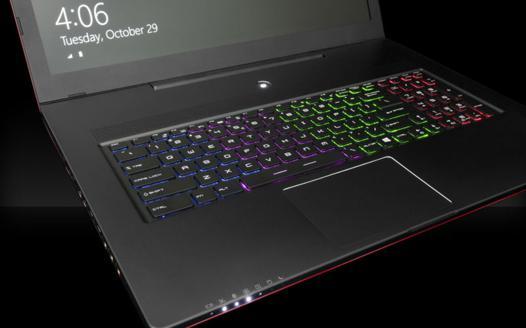 ordinateur portable clavier retro eclaire
