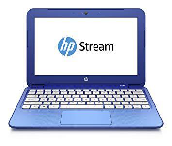 ordinateur portable hp bleu